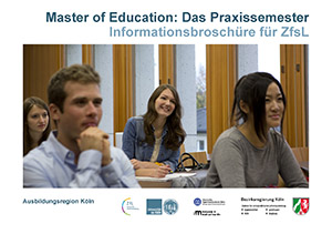 Master of Education: Das Praxissemester. Informationsbroschüre für ZfsL