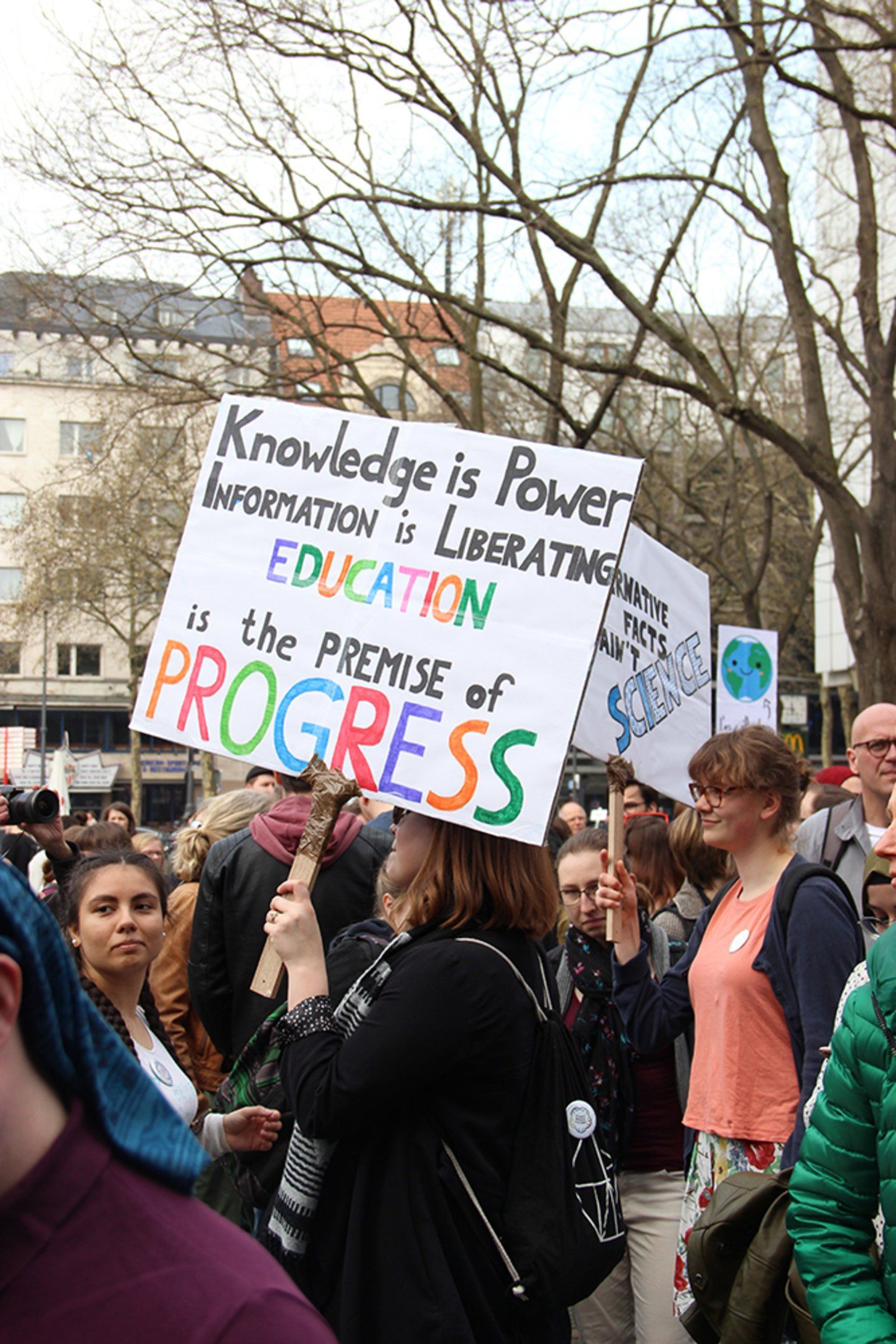 March for Science Köln 14.4.2018